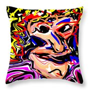 Just Another Pretty Face Throw Pillow