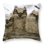 Just Babies Throw Pillow