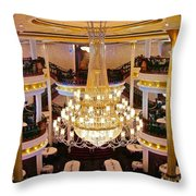 Just Before Dinner Throw Pillow