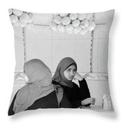 Just Before It All Throw Pillow