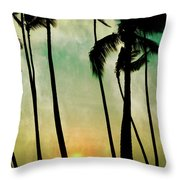 Just Before Sunset Throw Pillow