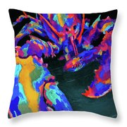 Just Claws Throw Pillow