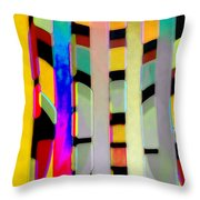 Just Color 2 Throw Pillow