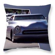 Just Cruising Throw Pillow