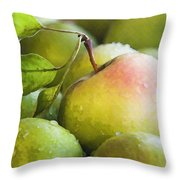 Just Delicious Throw Pillow