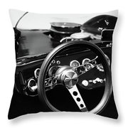 Just Drive Throw Pillow