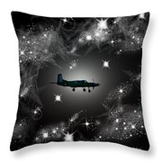 Just For Fun Through The Stars Throw Pillow