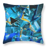 Just Like A Slow Motion Car Crash Throw Pillow