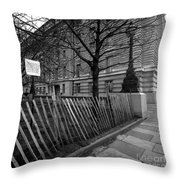 Just Lines And Forms Throw Pillow