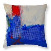 Just Meshing Around Throw Pillow