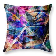 Just Not Wright Throw Pillow