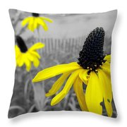 Just Outside 2 Throw Pillow