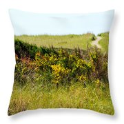 Just Over The Hill Throw Pillow