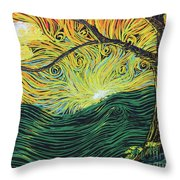 Just Over The Hill Too Throw Pillow