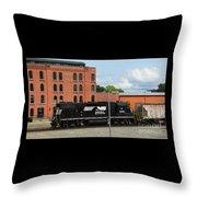 Just Plain Train Love Throw Pillow