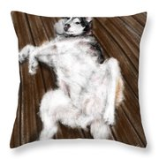 Just Playing Throw Pillow