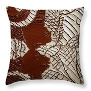 Just Relax - Tile Throw Pillow