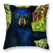 Just Sitting.... Throw Pillow
