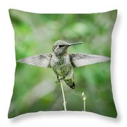 Just Spread Your Wings  Throw Pillow