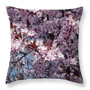Just Spring Throw Pillow