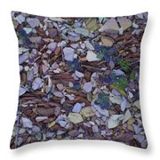 Just Stones Painting Throw Pillow