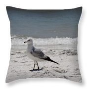 Just Strolling Along Throw Pillow