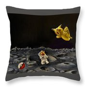Just Trying To Get Back Home Throw Pillow