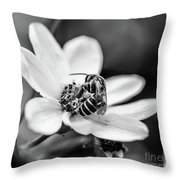 Just Work No Play Throw Pillow
