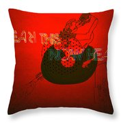 Justice For Jazz Artists Throw Pillow