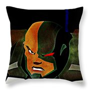 Justice League Doom Throw Pillow