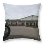 Justice Of The Peace Throw Pillow