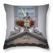 Justice Of Wittenberg Throw Pillow