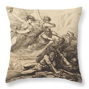 Justice, Vengeance, And Truth Throw Pillow