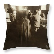 Juvenile Court, 1910 Throw Pillow