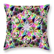 Jyoti Ahau 219 Throw Pillow