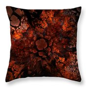 Ka-blam-oh Throw Pillow