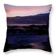Ka Lokomaikai Paako Makena Maui Hawaii Throw Pillow
