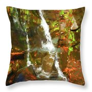 Lazy Flow Throw Pillow