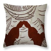 Kabaka Atuuse- The King Has Arrived - Tile Throw Pillow