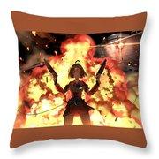 Kabaneri Of The Iron Fortress Throw Pillow