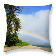 Blessed Land Throw Pillow