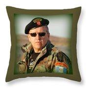 Kaibil Throw Pillow