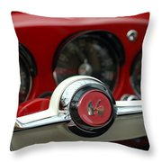 Kaiser Steering Wheel Throw Pillow