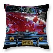 Kaiser Virginian Deluxe - 1949 Convertible Throw Pillow