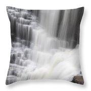 Kakabeka Falls Throw Pillow