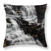 Kakabeka Falls Three Throw Pillow