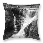 Kakabeka Falls Two Throw Pillow