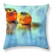 Kaki Couple Throw Pillow