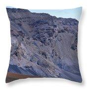 Kalahaku Pali And The Haleakala Crater Throw Pillow