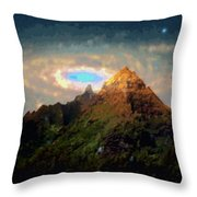 Kalakupua Throw Pillow